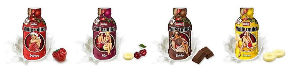 Müllermilchs Hommage an die 50er-Jahre Pin-up-Ästhetik schmeckte vielen modernen Frauen so gar nicht